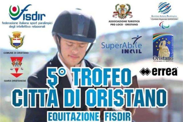 Equitazione disabili – Il 12 e il 13 ottobre il 5° Trofeo Città di Oristano Fisdir