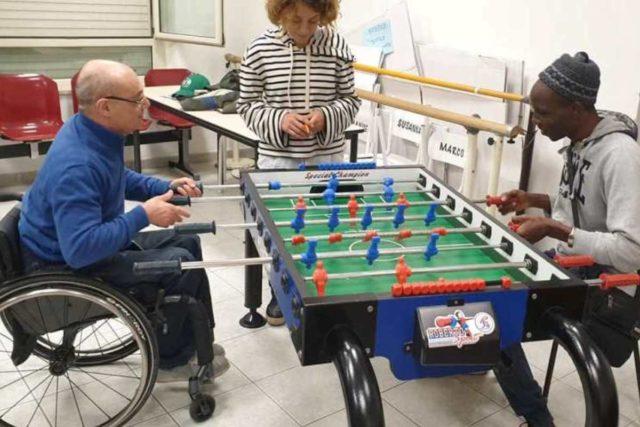 Calcio balilla – A Oristano il 1° campionato regionale paralimpico