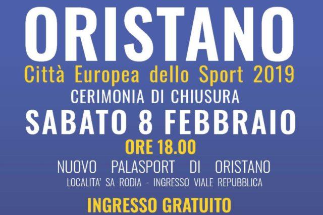 Sabato 8 febbraio la chiusura con i grandi campioni italiani