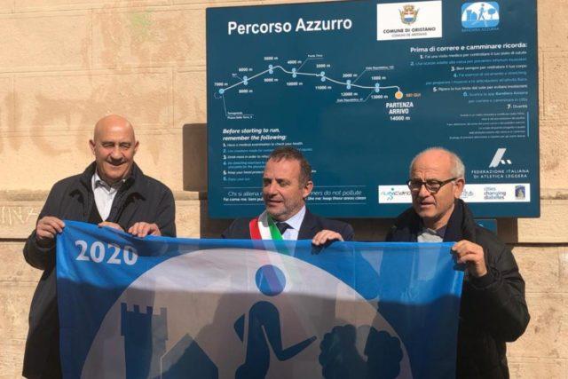 Bandiera azzurra – L'olimpionico Damilano premia Oristano