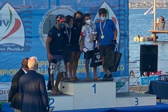 Vela – Andrea Carboni Campione italiano Open Skiff Under 13