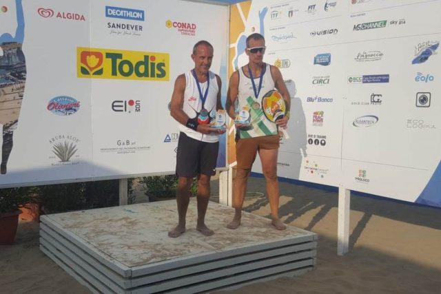 Beach Tennis – Alberto Tamponi Campione del mondo over 50