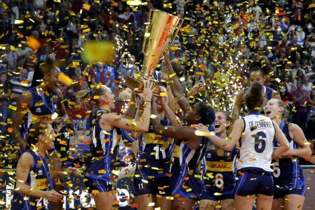 Alessia Orro medaglia d'oro europea con l'Italvolley